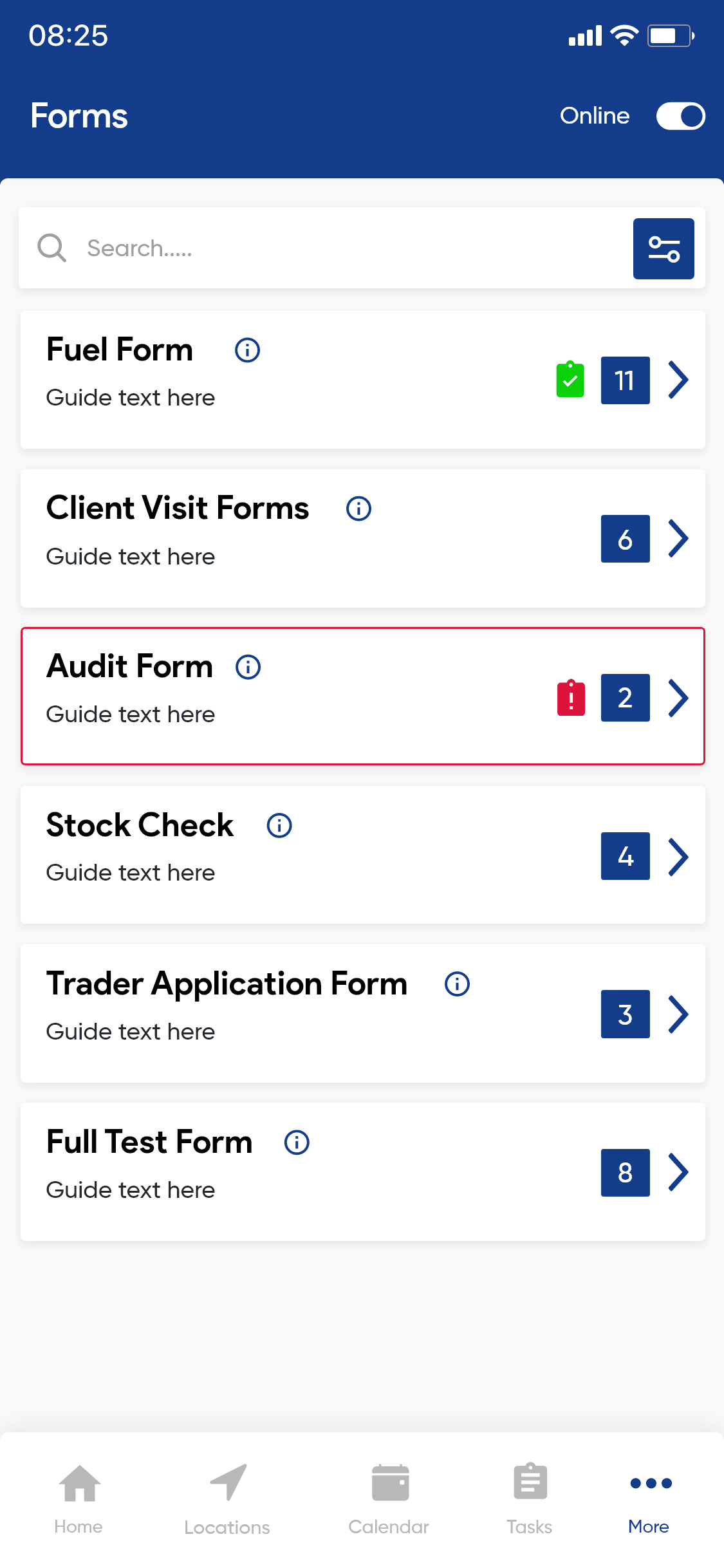 FORMS & CONTRACTS